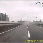 【台湾】航空機墜落の瞬簡を車載カメラが目撃